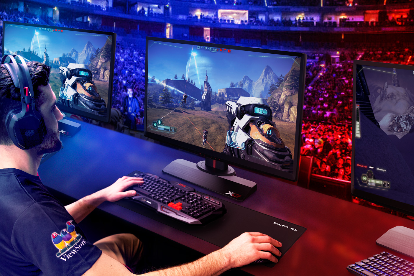 ViewSonic Introduces New XG Gaming Monitor with 240Hz Refresh Rate